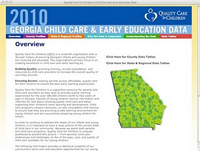 Quality Care for Children home page screenshot